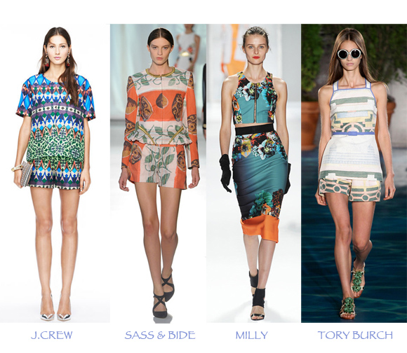 NY-fashion-week-spring-2014-matching-prints