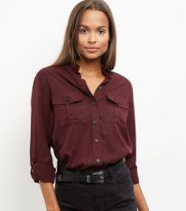 Double Pocket Military Shirt - New Look